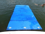 12' Long Nautical Blue Mat Group