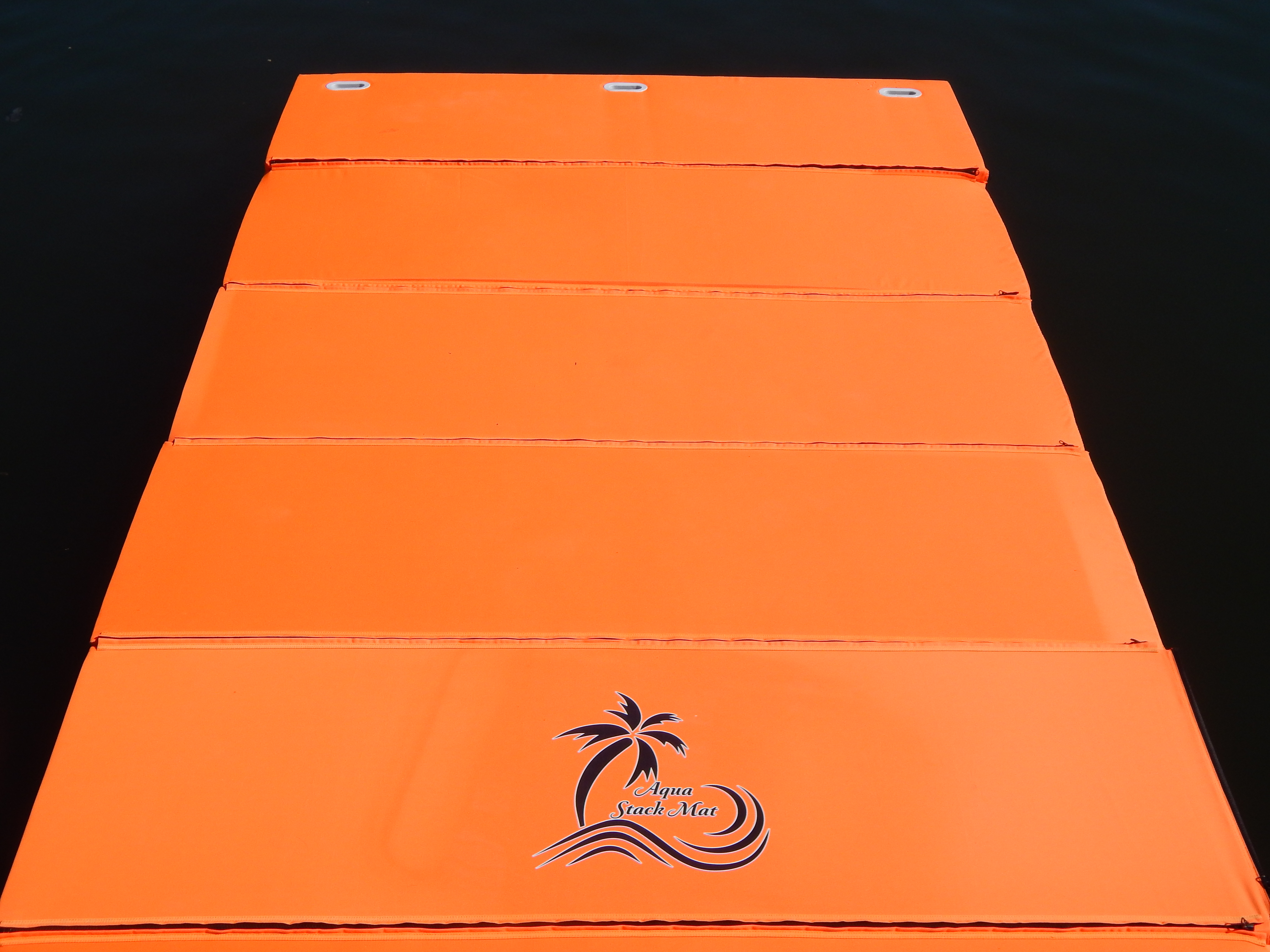 CLEARANCE 8' LONG TROPICAL ORANGE Mat Group