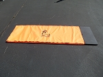 CLEARANCE ORANGE Fabric Panel - Middle Mat