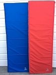 CLEARANCE 12' LONG CARDINAL RED AND NAUTICAL BLUE MAT