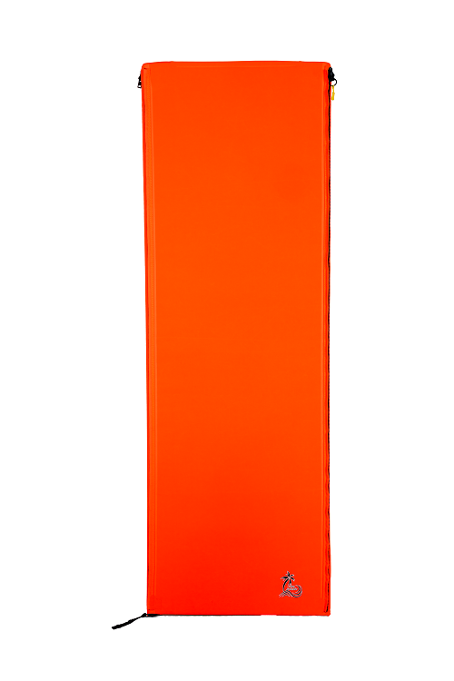CLEARANCE ORANGE Individual Middle Mat (Foam And Fabric)
